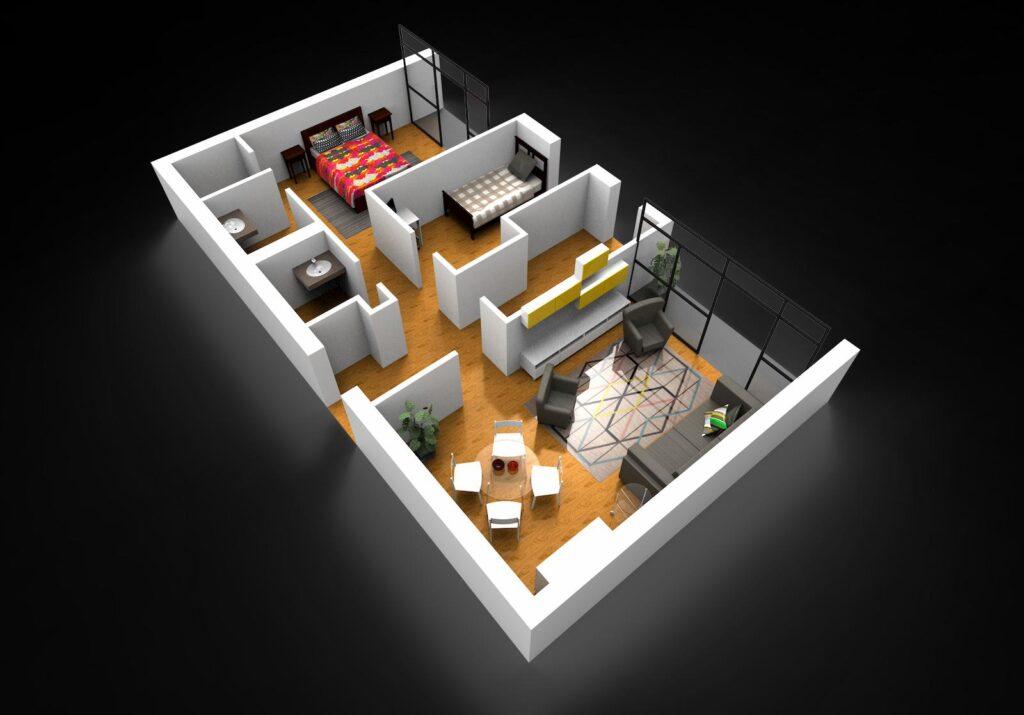 alzados-3d-vivienda